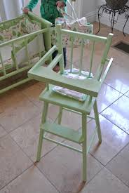 doll high chair diy
