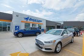 reynolds ford okc quick lane tire auto center service building remodel