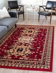 red 7 x 10 heriz design rug area rugs ca