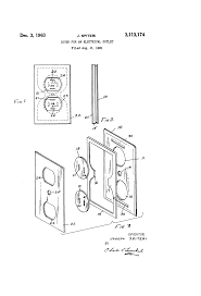 patent us3113174 cover for an electrical outlet google patents Diagram Electrical Plug Cover Diagram Electrical Plug Cover #3 French Electrical Plug Wiring Diagram