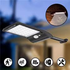 Outdoor Lighting Security Lights Solar Powered 36 Led Pir Motion Sensor Waterproof Street Security Light Wall Lamp For Outdoor Garden