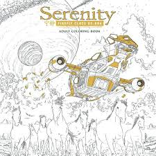 Show Coloring Pages Books Firefly Dark Horse To Put Out Serenity