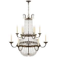 visual comfort paris flea market 12 light chandelier