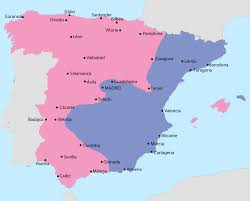 essay was the spanish civil war a preamble to wwii writework english map showing spain in 1937 area under nationalist control area under republican