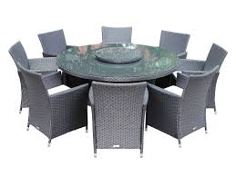 8 cambridge chairs with large round table dining set with free lazy from 12 circular patio