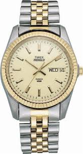 mens indiglo two tone classic watch t32747 timex mens indiglo two tone classic watch t32747