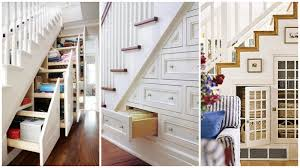Stunning Shelves Under Stairs Closet Photo Inspiration
