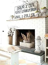 brick fireplace decor fire place decor painted brick delightful brick fireplace decor fireplace decoration for large