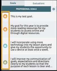 What Are Professional Goals Teachers Clean Up Last Years Goals Eduphoria