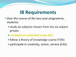 what is it and why should i care ppt  4 ib requirements
