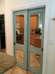 image mirrored closet door. vintage door with mirror for closet image mirrored