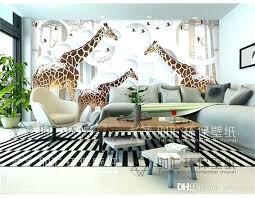 Good Giraffe Wallpaper For Bedrooms Giraffe Wallpaper For Bedrooms Unique View  Photo Cute Animal Wall Mural Art