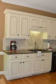 white painted glazed kitchen cabinets. Inspiring White Painted Glazed Kitchen Cabinets Images Of Office Picture Title C