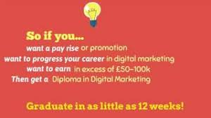 digital marketing diploma accredited by cim online course reed  qualifications play overlay