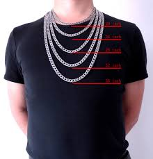 Chain Length Mens Necklace Images