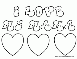 Small Picture I Love My Mommy Coloring Pages Coloring Home