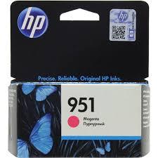 Оригинальный <b>картридж HP</b> CN051AE (<b>№951</b>) (пурпурный ...