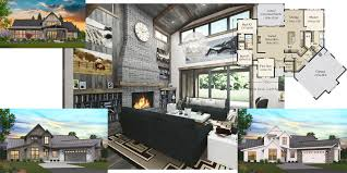 Small ultra modern house floor plans. House Plans Modern Home Floor Plans Unique Farmhouse Designs