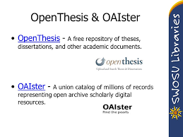 how to do a literature review an overview frederic murray  39 openthesis oaister openthesis a repository of theses dissertations and other academic documents openthesis oaister a union catalog of