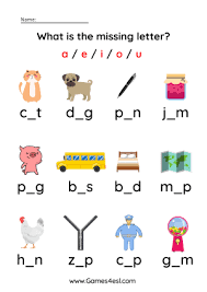 These free phonics worksheets can be used to practice the following phonics rules: Phonics Cvc Words Worksheets Games4esl