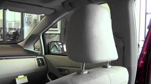 2012 | Toyota | Prius | Front Headrest Adjustment | How To by ...