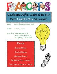 Lights On Afterschool Facts Celebrate After School With Free Facts Lights On Carnival