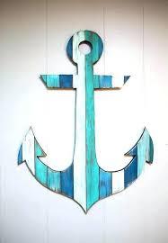 metal anchor wall decor anchor wall art beach wall art best anchor wall decoration anchor wall