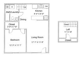 Shaker Village Floor Plans Apartments For Rent In Sandusky And - Loft apartment floor plans