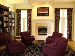 Living Room Curtains Living Room Decorating Ideas With Elegant Style Apartment Curtains