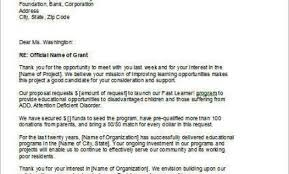 Brilliant Ideas Of Cover Letter Sample For Funding Proposal