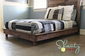 hailey platform bed frame ana white