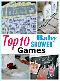 Top TEN Baby Shower Games | Throwing a Baby Shower (ideas ...