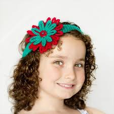 Crochet Flower Pattern For Headband Beauteous 48 Easy Crochet Headband With Flowers DIY To Make