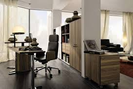 excellent desk office. Office:Furniture L Shaped Black Wood Corner Computer Desk With Hutch And Along Office Excellent .