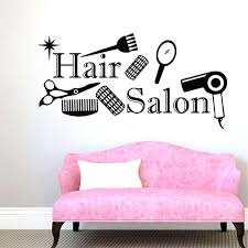 salon wall decals hair salon vinyl wall decal scissors comb decal beauty hair salon mural wall