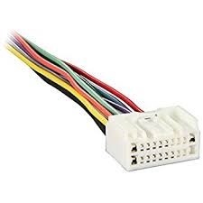amazon com metra 70 7005 radio wiring harness for 07 mitsubishi Metra Wiring Harness Package metra pin wire harness 71 7005 20 for 2007 up mitsubishi oem factory radio Metra Wiring Harness Colors