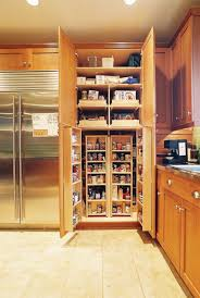 ... Spectacular Tall Oak Kitchen Pantry Cabinets With Rev A Shelf 45 Swing  Out Pantry Kit Also ...
