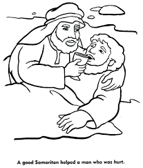 Coloring Pages The Good Good Coloring Pages 1 Good Samaritan Bible