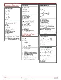 fluid mechanics cheat sheet engineering formula sheet