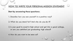 write about a time when you succeeded at something because you 27 how to write your personal mission statement start by answering these questions 1