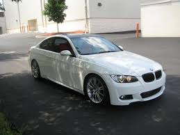 BMW 3 Series 2008 bmw 335i m sport package : FS: 2009 BMW 335i Coupe|M-Sport - Alpine White/Coral Red, All ...