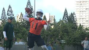 Woolsey Named Starting Qb Fall Depth Chart For Uh Football