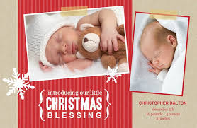 Christmas Birth Announcement Ideas Holiday Birth Announcements New Holiday Templates From Purpletrail
