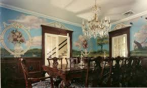 Bonnie Siracusa Murals Fine Art. Hand Painted Wall Murals Dining ...