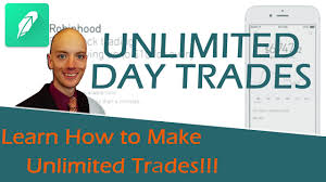 What Is A Pattern Day Trader Fascinating Robinhood Unlimited Day Trades How To Get Around The Pattern Day