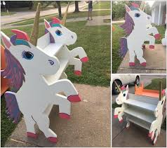 build yourself or invest in a ready made unicorn bookcase kids are going to adore a bookshelf like this