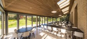 Small Picture Dine in The Garden Room at Sad Business School Conference Oxford