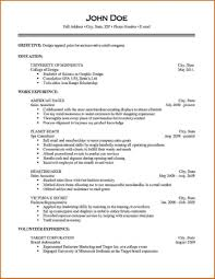 One Job Resume Template Dreaded One Job Resume Template Examples Samples Cover Inside For 23