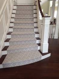 Patterned Stair Carpet Custom I Love This Carpet Texture Martha Stewart's Winterthur Pattern