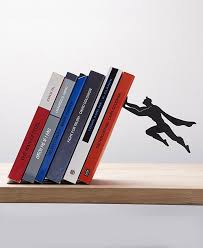 View in gallery Superhero bookends